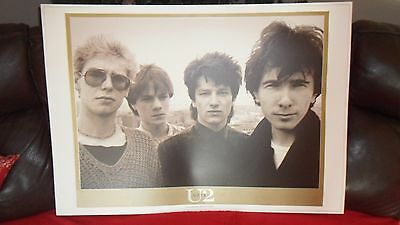 U2.18.lithograph Poster.mint Condition