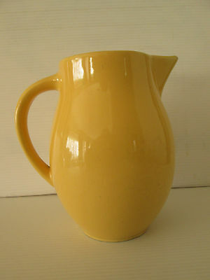 Vintage Yellow Kitchen Jug 16cms High Made In England