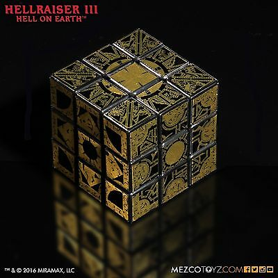 Mezco Hellraiser Iii Hell On Earth Lament Configuration Puzzle Cube In Stock