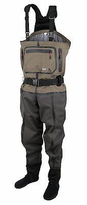 Scierra X-Tech CC6 Chest Waders Stocking Foot Size: M -  Waterproof flyfishing