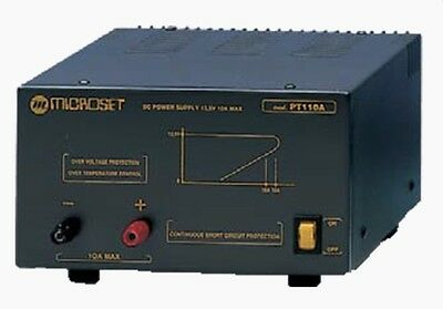 Microset PT-107A Power Supply 7 Amps Analogue