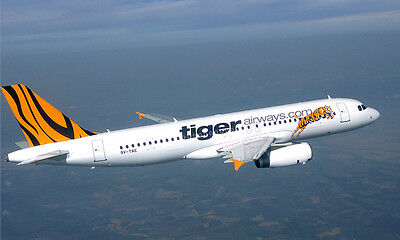 Brisbane to Melbourne Tiger Airlines Flight JANUARY SECOND