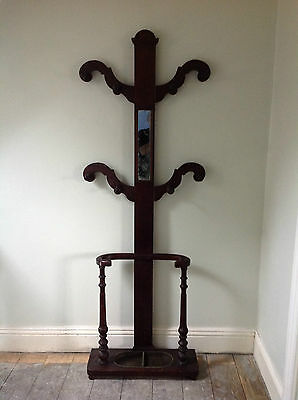 Antique and Unusual Hall Stand - Possible Shabby Chic Project