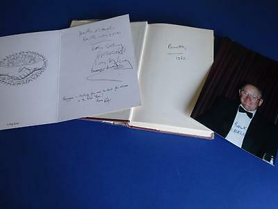 Reg Kray, Lord Boothby & Nipper Read Signed Items