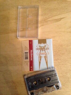 Madonna The Immaculate Collection MC cassetta Tape Made In Italy