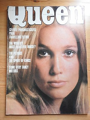 Queen magazine 9th October 1968 - vintage adverts
