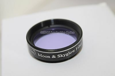 """Ostara 1.25"""" Moon / Skyglow filter for eyepiece 2017 version with upgraded case"""