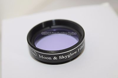 "Ostara 1.25"" Moon / Skyglow filter for eyepiece 2017 version with upgraded case"