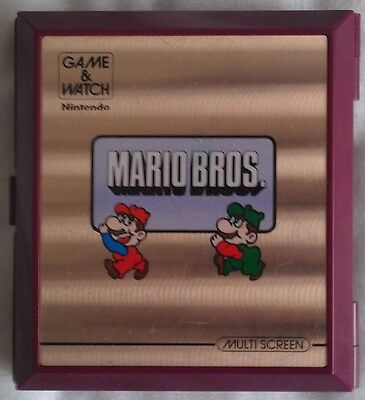 Mario Bros. Nintendo Game & Watch LCD Retro Game *FULLY TESTED*