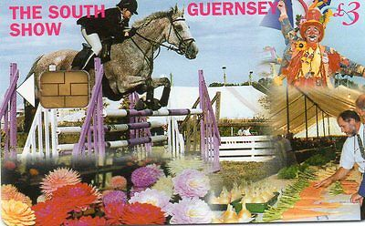 Phone Cards,Guernsey, 1 Card, £3 The South Show , Issue no 1 GTDEF 207