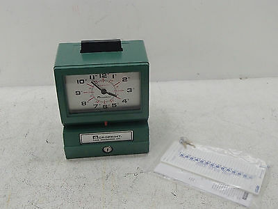 Acroprint 125RR4 Heavy Duty Manual Time Recorder Time Clock