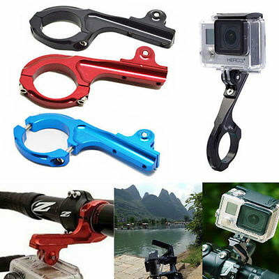 Aluminum Bike Handlebar Bar Standard Mount Adapter For GoPro HD Hero 1 2 3 3+ 4