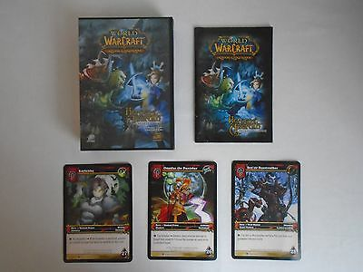 World Of Warcraft Trading Card Game Heroes Of Azeroth Box + Large Hero Cards