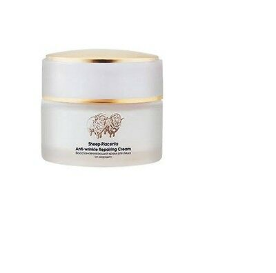 TianDe Sheep placenta anti-wrinkle recovering  cream for face, 50 g.