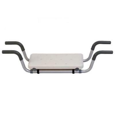 Plastic seat with aluminium frame for bathtub BA18