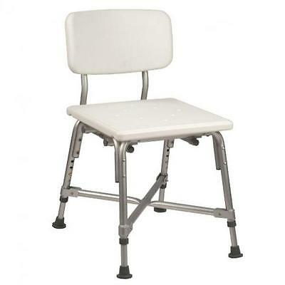 Bariatric shower seat with back rest BB5