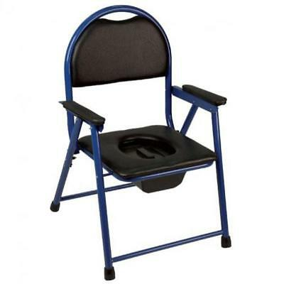 Upholstered folding TOILET Chair BA49
