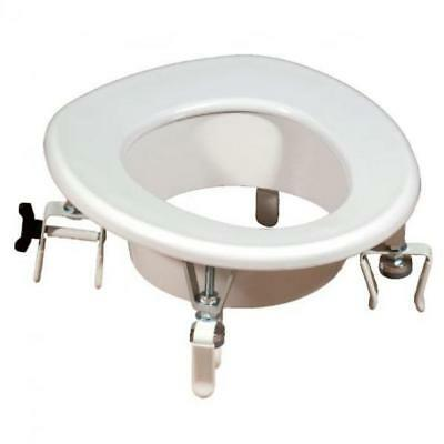 Raised toilet seat with terminals BA25