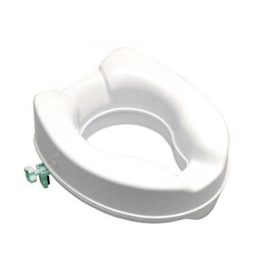 Raised toilet seat height cm with brackets. 14 BA13