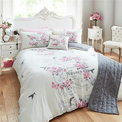 BNIP 5 Piece Bed in a Bag Bedding Duvet Quilt Cover Set, Double & King Size