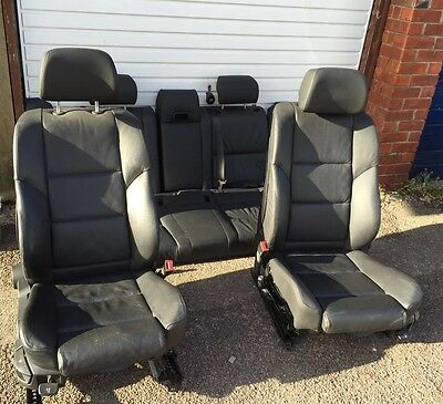 BMW 5 series e61 Touring  LCI M Sport Leather Interior Seats with door cards