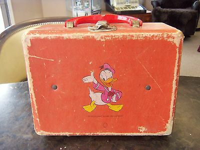 Vintage Walt Disney Productions Childs Lunch/toy Box