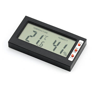 Digital Indoor Thermometer Humidity Meter Hygrometer for Cars Home Office