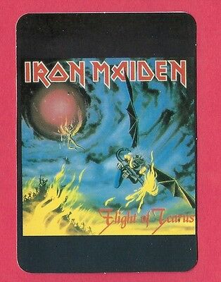 Iron Maiden Music Collectible Card 1996; Heavy Metal; New Wave; Steve Harris; UK