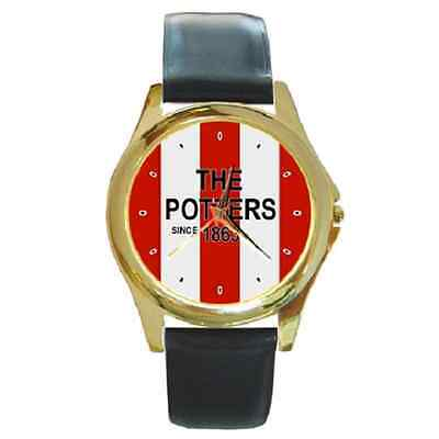 **new* The Potters Since 1863 Stoke Round Wristwatch **great Gift Item**