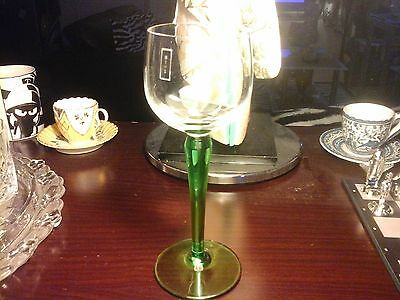BRITISH TRANSPORT HOTEL SERVICES WINE GLASS, 8 inches