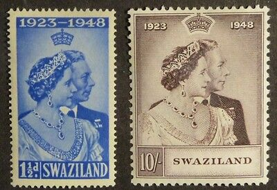 Stamps: Swaziland:  SG# 46 & 47  E406  MH