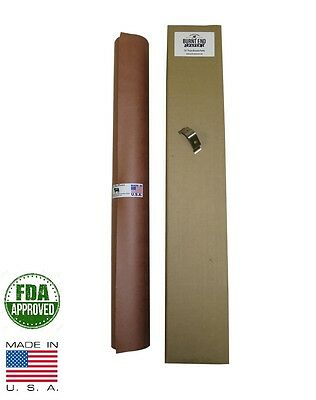 "24"" x 100' Pink/Peach Butcher Paper Roll Smoker Safe Aaron Franklin BBQ Style"