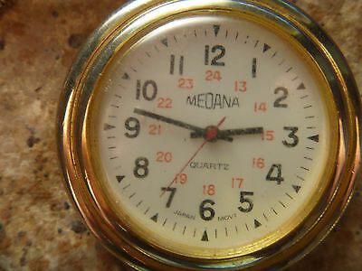 Medana Pocket Watch with Railroad Dial  complete with Chain