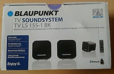 blaupunkt tv bluetooth soundsystem tv ls 155 1 bk fernbedienung neu ovp eur 27 50. Black Bedroom Furniture Sets. Home Design Ideas