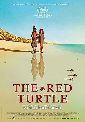 "The Red Turtle Movie Poster 18"" x 28"" ID:1"