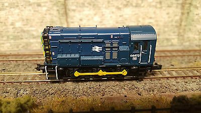 371-015C DCC Fitted Farish Class 08 Shunter 08672 BR Blue