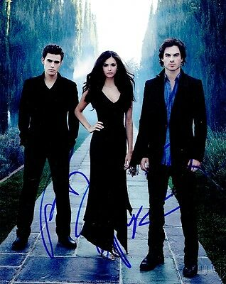 Cast  *signed The Vampire Diaries Pilot Episode Script Screenplay