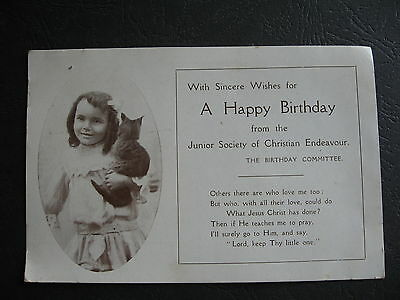 Junior Society Of Christian Endevour  Gladys Gibson Glover St South Melbourne