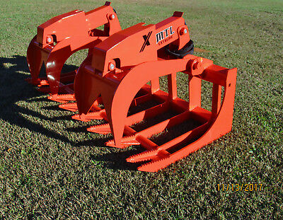 MTL attachments Xtreme 72 Root Grapple Bucket skid steer Bobcat-Kubota-Ship $149