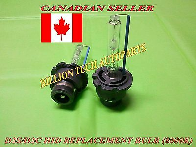 D2S Hid Xenon Replacement Bulb 8000K (Pair)