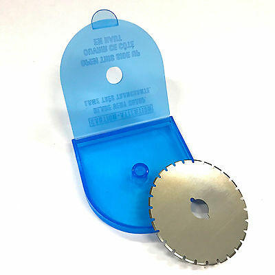 "45MM (1-3/4"") Skip Cut Rotary Cutter Round Replacement Blade"