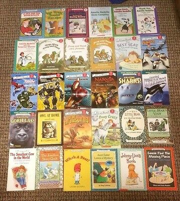 Lot of 30 AN I CAN READ BOOKS Level 2 Readers AMELIA BEDELIA Frog & Toad MORE