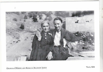"*Postcard-""Couple In Love"" (Becky & Georgia)  *Taos, New Mexico (#130)"