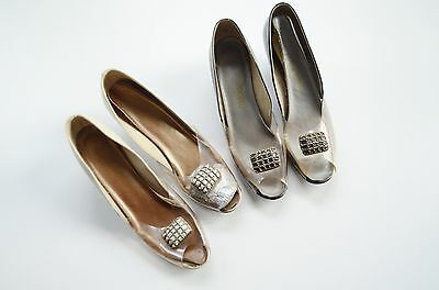 2 Pairs of Mid Century Wedges size 10N