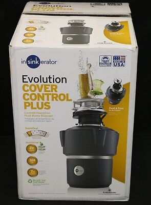 In Sink Erator Evolution Cover Control 3/4 HP Food Waste Disposer