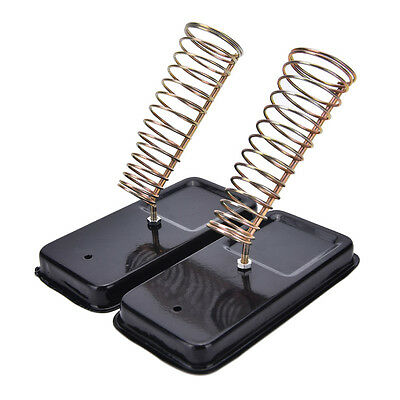 Detachable Metal Base Soldering Iron Gun Holder Stand  Support Station RX