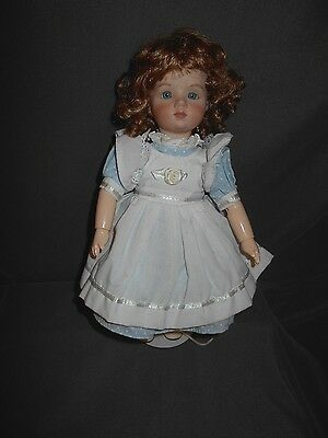 "Unknown 11"" Porcelain/Composition Doll, Jointed, Really Nice Condition, Used"