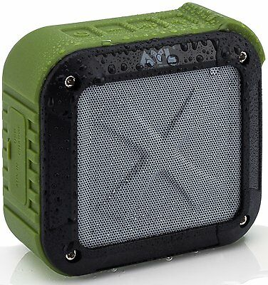 Portable Outdoor and Shower Bluetooth 4.0 Speaker by AYL SoundFit, Waterproof...
