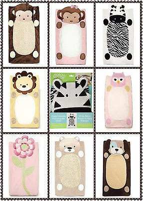 Wholesale Cocalo Plushy Cute Animal Baby Changing Pad Cover Mat 8 Designs