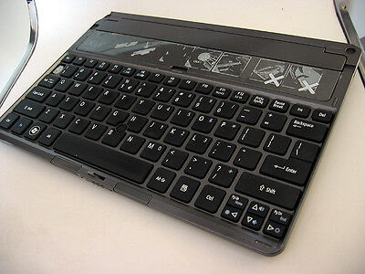 Tablet Keyboard Dock Attachment for Acer ICONIA W501 LCD Tablet